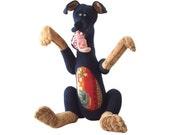 Dog's stuffed animal