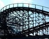 Roller Coaster Forever Gone Myrtle Beach SC 5 x 7