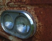 Rust & Chrome Series Old Ford Truck Abandoned, Man Cave, Den 5 x 7 photo, decay, farmland, workhorse, vintage, classic