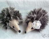 Mohair Hedgehogs