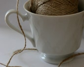 Jute twine. 25 ft. Perfect for kraft tags. Biodegradable, earth friendly.