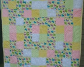 Soooo SOFT Minky & Flannel Baby Quilt