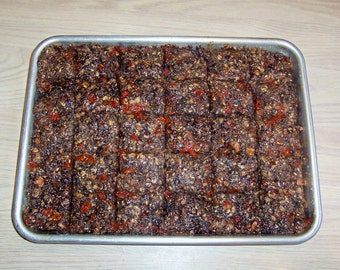 DIET BARS,,Many FLAVORS  Delicious, Acai Berry,Organic, Bakery Tray 30 or 15 Hemp Seed Oil