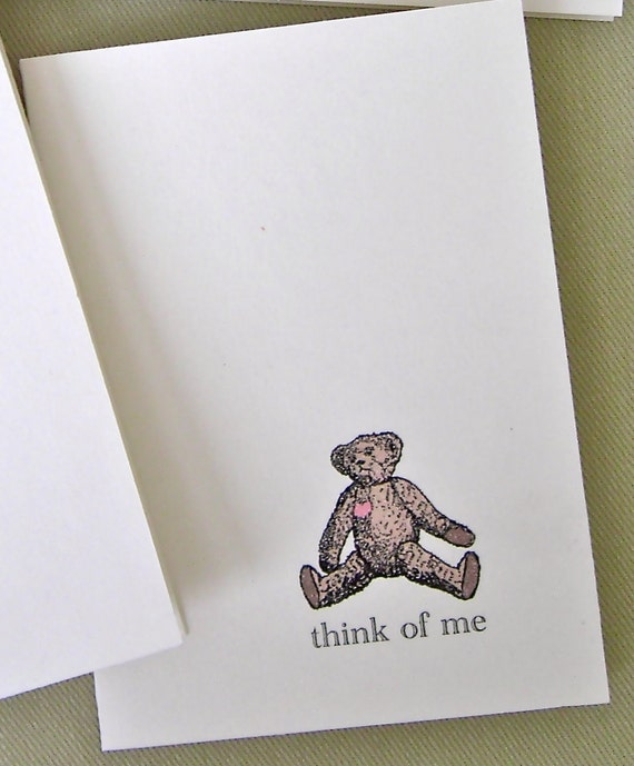 think of me cards