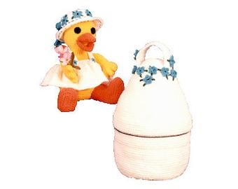 PDF Amigurumi Chicken -  Crochet Chicken Pattern - Crochet Chicken & Egg Carrier Pattern (7230) Td creations