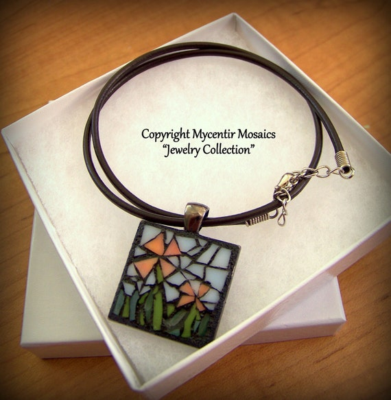 Together with You Mosaic Pendant (Stained Glass)
