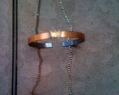 vintage copper butterfly necklace, bracelet or ring