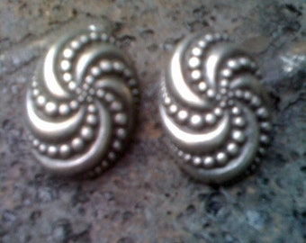 Ben Amun pewter earrings