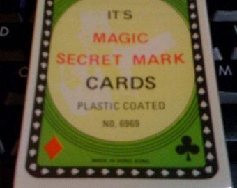 vintage Magic trick cards