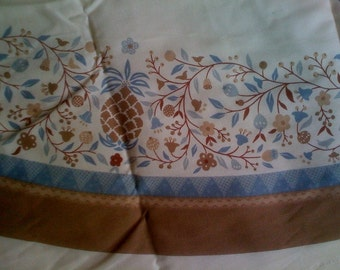 Vintage Table cloth panel country classics kitchen