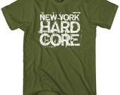 New York Hardcore T-shirt - Men and Kids - XS S M L XL 2x 3x 4x - NYC Tee - New York City - 6 Colors