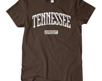 Women's Tennessee Represent T-shirt - S M L XL 2x - Tennessee Ladies' Tee - 4 Colors