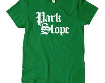 Women's Park Slope Tee - Brooklyn - S M L XL 2x - Ladies Brooklyn T-shirt - New York City NYC - 4 Colors