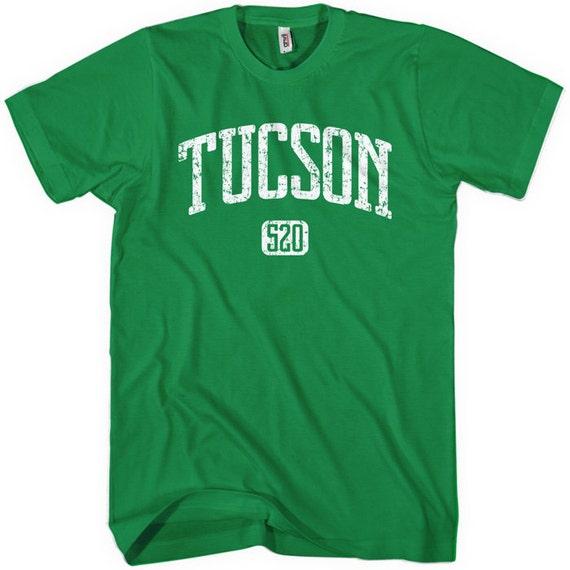 Tucson 520 Tee - Men and Unisex - XS S M L XL 2x 3x 4x - Arizona T-shirt - 4 Colors