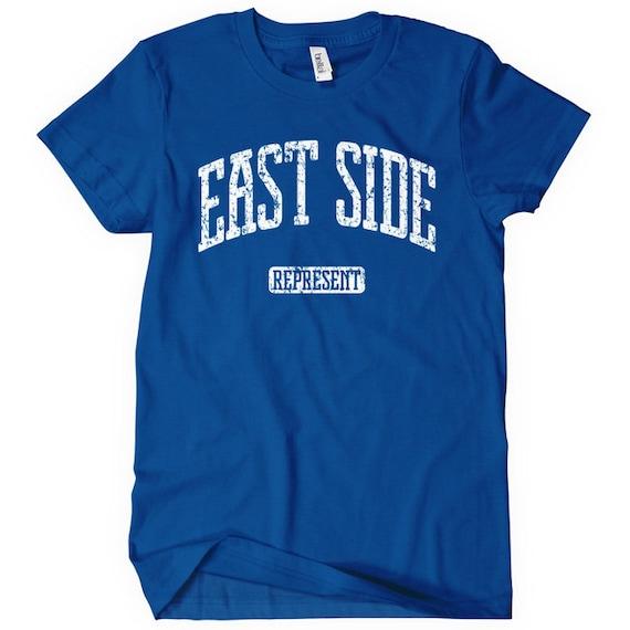 Women's East Side Represent T-shirt - S M L XL 2x - Ladies' Tee - 4 Colors
