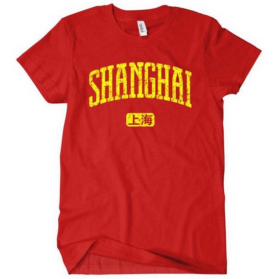 Women's Shanghai T-shirt - S M L XL 2x - Ladies' Shanghai China Tee - Chinese - 4 Colors