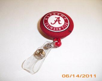 I.D. Badge Reel Alabama Crimson Tide