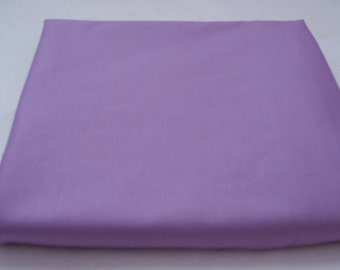 Lavender Purple Solid Color  Baby Toddler Bed Fitted Sheet Pansy