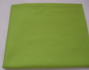 Chartreuse Solid Color  Baby Toddler Bed Fitted Sheet Green