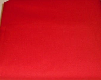 Red Solid Color  Baby Toddler Bed Fitted Sheet Tomato Red