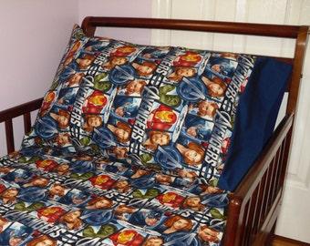 Avengers Standard Pillowcase Super Hero Captain America Iron Man Incredible Hulk