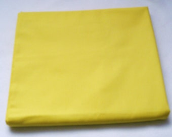 Solid Color Yellow Buttercup Baby Toddler Bed Fitted Sheet