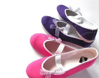 White coquette /ballet flats shoes jarmilki woman bride poletsy fashion gift romantic elegant spring summer red mary janes bow polka dot