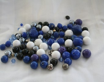 Vintage Beads in Blue