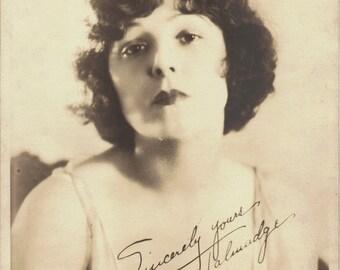 Norma Talmadge Facsimile Autographed Photo by Melbourne Spurr
