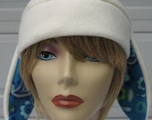 Anime Paisley Spring or Summer Bunny Ear Hat Classic Anime Look