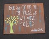 Bible Verse Canvas 16x20
