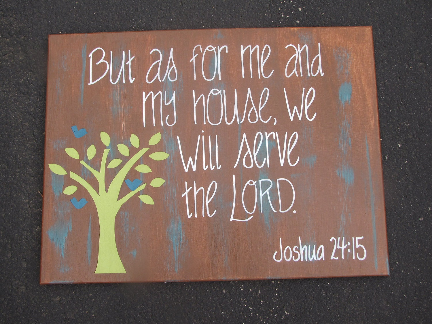 Items Similar To Bible Verse Canvas 16x20 On Etsy