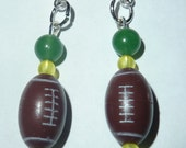 2 Pairs of Football-themed earrings. All NFL teams available.  SALE