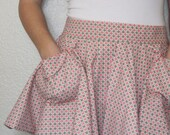 NEW-Half Apron Vintage Style Fun and Flirty FREE SHIPPING & free gift w/purchase