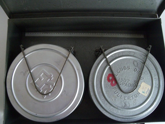 Industrial Metal Box - Film Box with Reel Holders and Film Cans