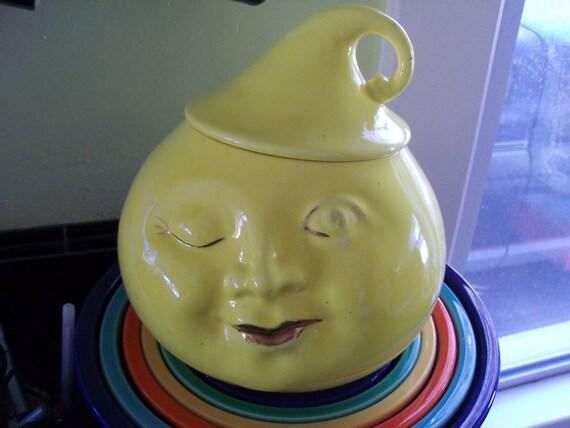 Cookie Jar - Rare California Pottery Vallona Starr Winky Cookie Jar