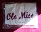 Miss State Ole Miss or Child Name Favorite Team Embroidered Personalized PillowCase