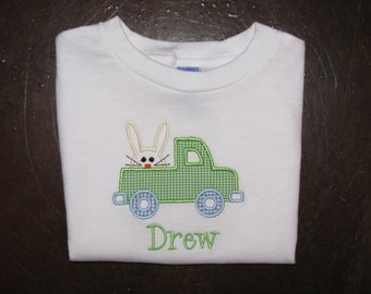 infant/toddler boys Easter Shirt FREE PERSONALIZATION