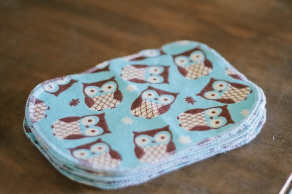 Cloth Wipes - 10 Print Set - Eco Friendly Reusable Cloth Wipes