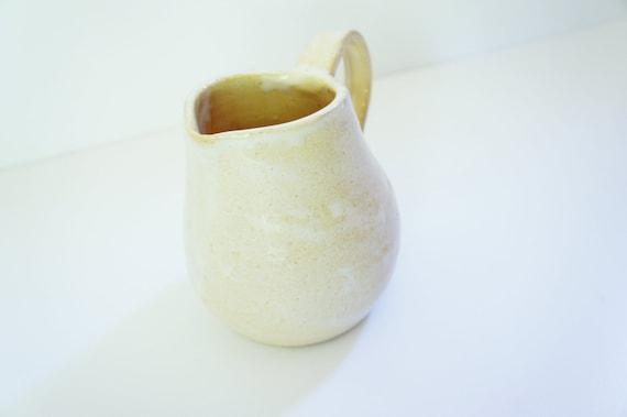 pale yellow kitchen pitcher