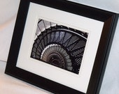 Spiral Stairs - Framed Art Photography - Ready to Hang