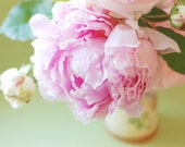 Peony and Roses Floral Spring Bouquet 8x12 Original Fine Art Photography Print