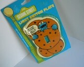 Sesame Street 'Cookie Monster' Light Switch Plate