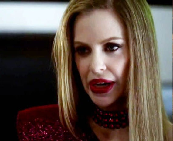 As seen on True Blood, Pam's Choker Necklace SE4 EP2