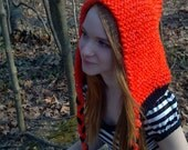 Chunky Knit Pixie Hood Pattern