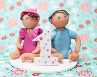 Ist Birthday Cake Topper