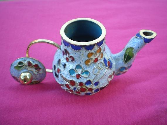 Cloisonne Teapot