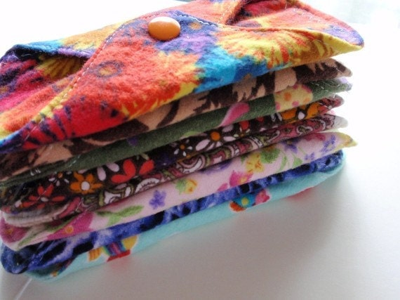 Little Bitty Liners Reusable Cloth Set of 8