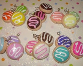 Frosted Sugar Cookie Charm - Choose from 18 Colors