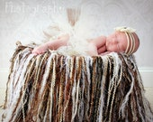 Fringe Blanket Photo Prop CROCHET PATTERN instant download - photography throw